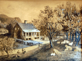 Spring at the Homestead (Dufex Foil Print #S189M) - $4.99