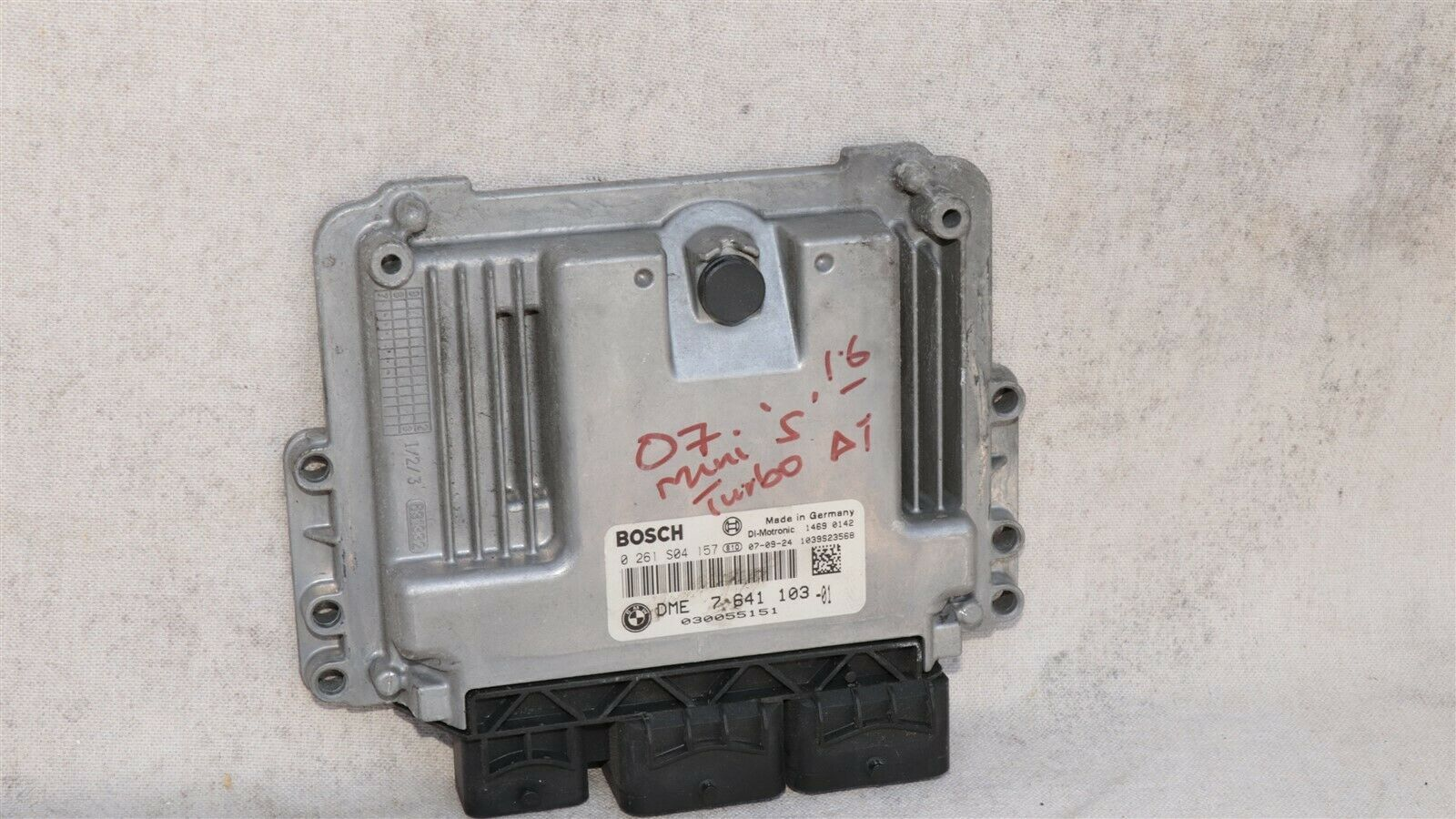 07-13 Mini Cooper-S R55 R56 R57 A/T 1.6L Engine Computer ECU DME 764110301