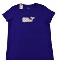 Vineyard Vines Womens SS Graphic T-Shirt Tee Leaf Print Whale Medium (M) - $34.99
