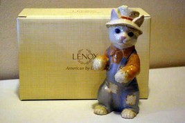 Lenox 2012 Kitty Scarecrow Figurine New In Box - $18.01