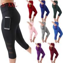 Women Legging Black Leggins Sexy Net Women Leggings Knitted Workout Clothes - $10.00
