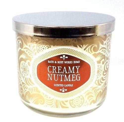 Creamy nutmeg candle