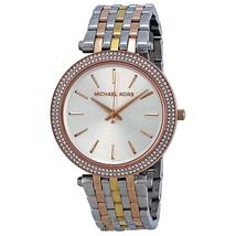 Michael Kors Women's Watch MK3203 Darci Tricolor Glitz: Rose Gold/Silver... - $159.00