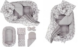 Baby Nest Pod Cocoon 0-9 Sleeping Bassinet Soft Cotton Butterfly Blanket 6in1 - $83.00