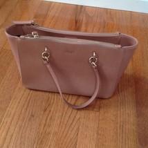 DKNY Women's Handbag Light Pink Leather Satchel Shoulder Purse - $43.56