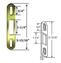 """Sliding Glass Patio Door Keeper, 3-15/16"""" Height - $9.85"""