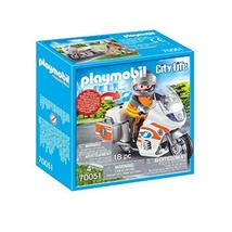 Playmobil Emergency Motorbike - $19.99
