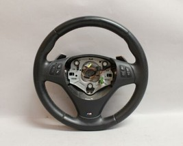 08 09 10 11 12 13 Bmw 135I M-SPORT Paddle Shift Black Steering Wheel - $376.19