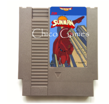 Sunman 72 pins Nintendo NES Cartridge Video Game - Cartridge Only - $18.99