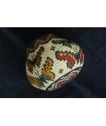 Wounaan Darien Indian Hösig Di Museum Quality Butterfly Artist Basket 30... - $854.99