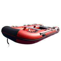 BRIS 12ft Inflatable Boat Dinghy Raft Pontoon Rescue & Dive Raft Fishing Boa image 6