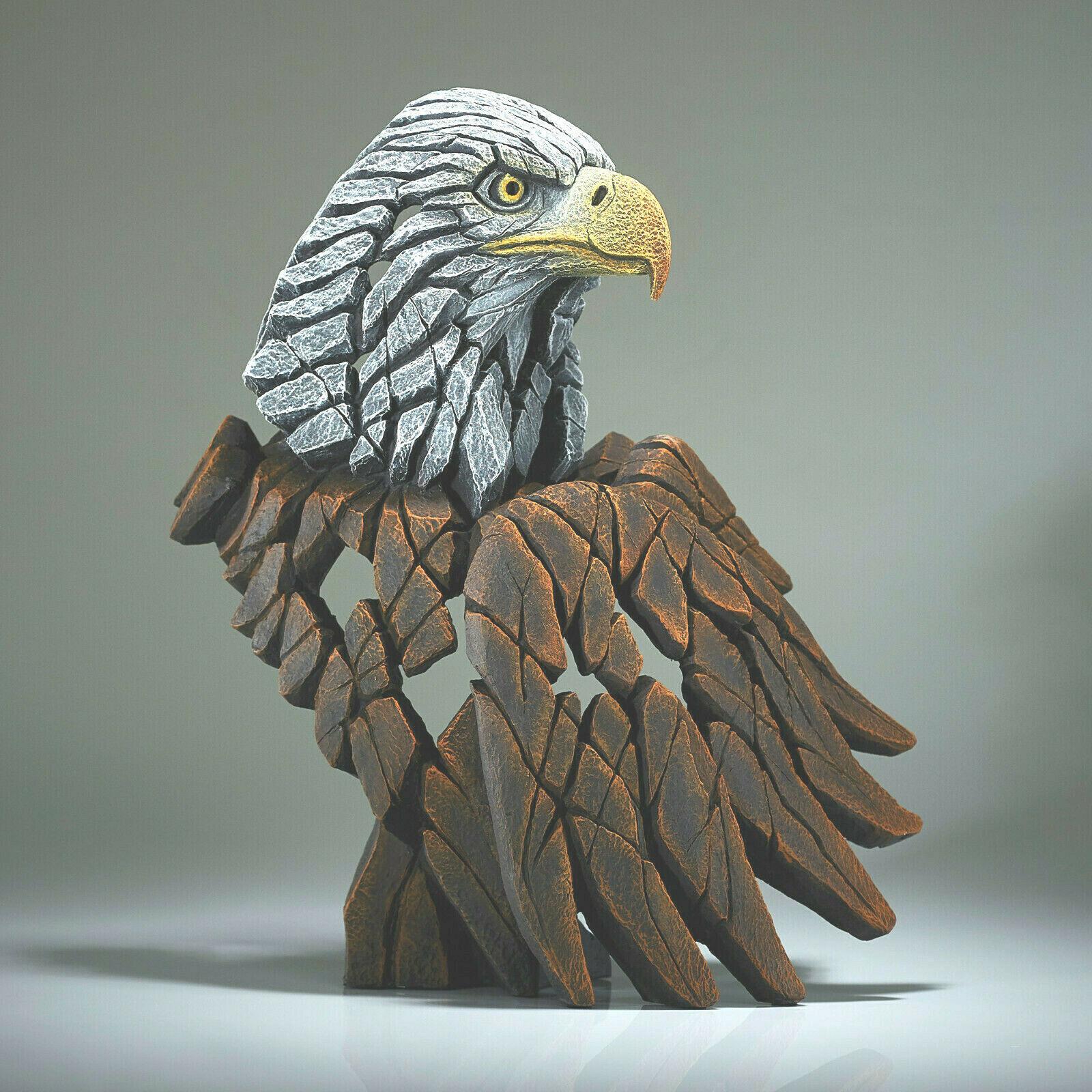 "14.5"" Bald Eagle Bust by Edge Sculpture - Stunning Piece"