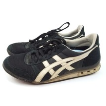 Asics Onitsuka Tiger HN201 Mens 7.5 Black and Silver Athletic Sneakers S... - $30.57