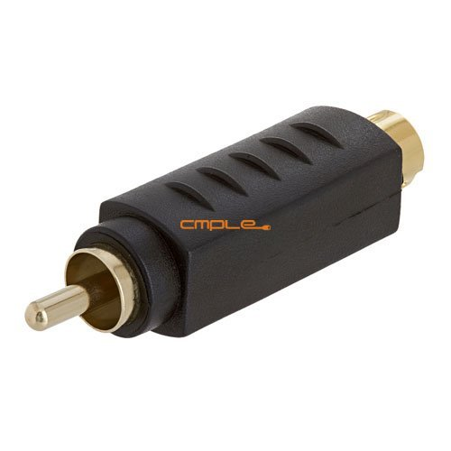 Primary image for Cmple - S-VHS 4Pin Plug to RCA Plug Adapter