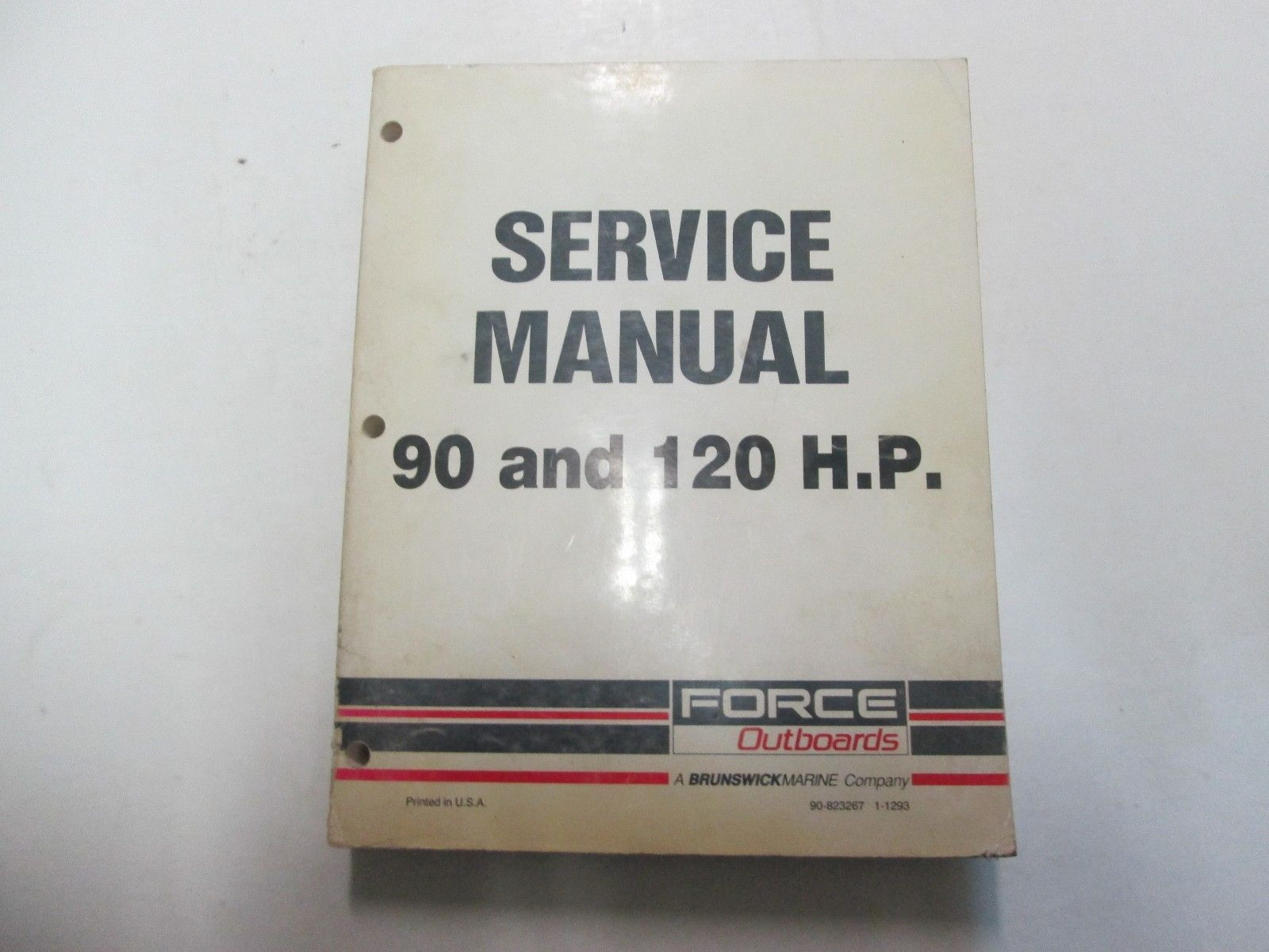 Primary image for Force Outboards 90/120 HP 90 120 Service Shop Repair Manual Boat US Brunswick