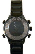 KR3W Mens K1006 Stainless Steel Digit Dual Analog Digital Wrist Watch New in Box image 2