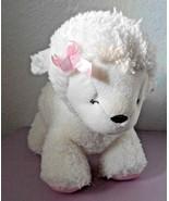 Carters Child of Mine Lamb Musical Key White Blue Heart Plush Stuffed An... - $25.72
