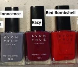 "Avon True Color Pro+ Nail Enamel "" Racy"" - $5.99"