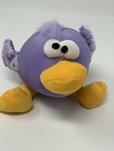 "COMMONWEALTH TOY PLUSH PURPLE EASTER EGG CRAZY EYE BIRD 7"" 2006 STUFFED TOY - $9.40"