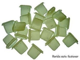 Buick door panel clips-inserts-oblong-nylon - $9.00