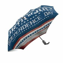 InterestPrint Happy 4th of July Independence Day with American Flag Windproof Au - $25.73