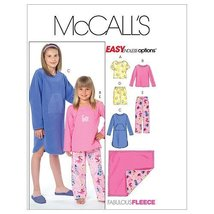 McCall's Patterns M4963 Children's/Girls' Tops, Gown, Short, Pants and Blanket,  - $9.80