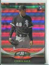 CHRIS SALE RC 2011 Bowman Platinum #35 ROOKIE White Sox - $6.49