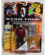 Star Trek Next Generations William Riker Action Figure Factory Sealed NEW - $5.93