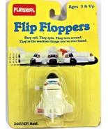 Playskool Wind Up Flip Floppers (Space Shuttle) Vintage 1989 - $12.86