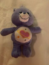 "10"" Daydream Care Bear Plush Stuffed Animal 2004 Galaxy Heart Stars Tumm... - $15.00"