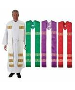 Religious, Church & Catholic Gifts, 4pc Avignon Collection Overlay Stole... - $271.66