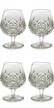 Waterford Lismore Brandy Balloon Boxed Pair 12oz (2) Pair 4 Glasses #6223182620 - $315.56