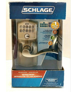 Schlage Keypad Entry FE595 V Cam 619 ACC Satin Nickel Camelot Outside Home - $169.99