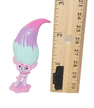 "POPPY MINI 2.25"" TROLLS DREAMWORKS - FROM DWA TOY FIGURE SET USED 2016 - $5.88"