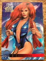 Marvel Flair Annual 1995 #55 Mary Jane Single Card - $4.99