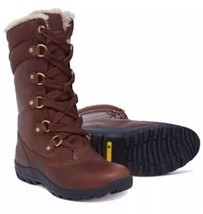Women's Timberland Mount Hope Mid Waterproof Snow Boots Brown 8709R. Siz... - $186.07