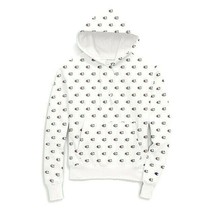 Champion Men's  Scribble Logo RW Pullover NEW AUTHENTIC White S2974-KWL - $49.99
