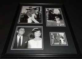 President John F Kennedy JFK w/ Jackie O & Family Framed 16x20 Photo Col... - $79.19