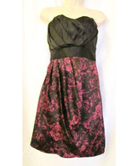 NWT ELLE COCKTAIL/PARTY/CLUB MINI DRESS,PARISIAN NIGHTS SZ 12,BLACK,PURP... - $34.95