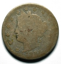 1886 Liberty Nickel 5¢ Actual Coin Pictured Lot# A657