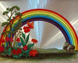 654434 rainbow with flowers thumb155 crop