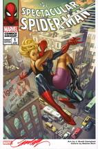 J Scott Campbell SIGNED Amazing Spider-man Marvel Comic Art Print ~ Gwen... - $49.49