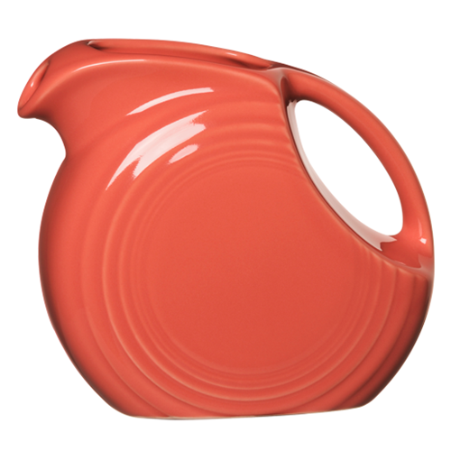 Primary image for Fiesta Flamingo 28 oz. Small Disc Pitcher