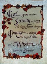 """""""God Grant Me"""" (Dufex Foil Print #1-6561F) - $4.99"""
