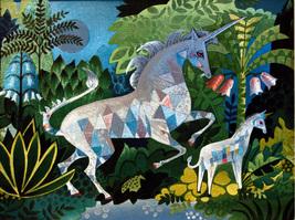 Fantasy Unicorn (Dufex Foil Print #152591) - $4.99