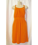 NWT ISTER KNIT SLEEVELESS SUNDRESS/ SUMMER DRESS ,PLUS SIZE 1X,ORANGE,$4... - $27.95