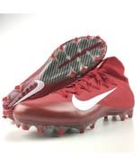 Nike Vapor Untouchable 2 Size 14 Football Cleats University Red Carbon F... - $99.95