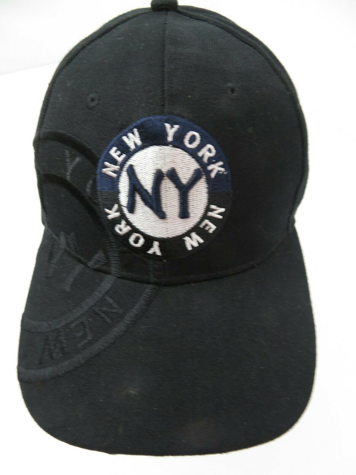 Primary image for New York Black White Snapback Adult Cap Hat
