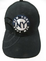 New York Black White Snapback Adult Cap Hat - $12.86