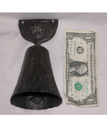"""Metal 6 1/2"""" Bell With Stamped Coat of Arms Rampant Lion, Free Shipping ... - $76.87"""